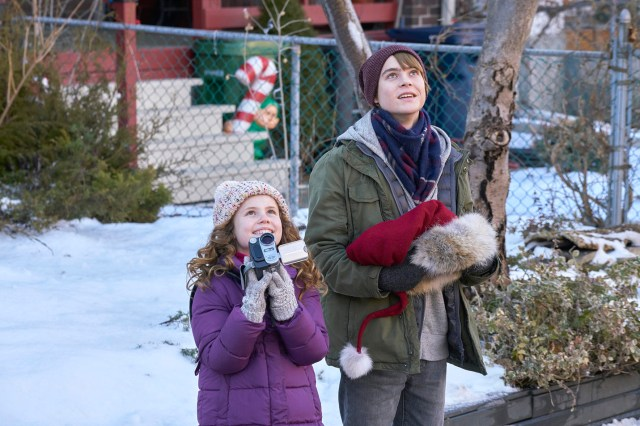 Darby Camp and Judah Lewis in The Christmas Chronicles (2018) | NETFLIX, Photo by Michael Gibson