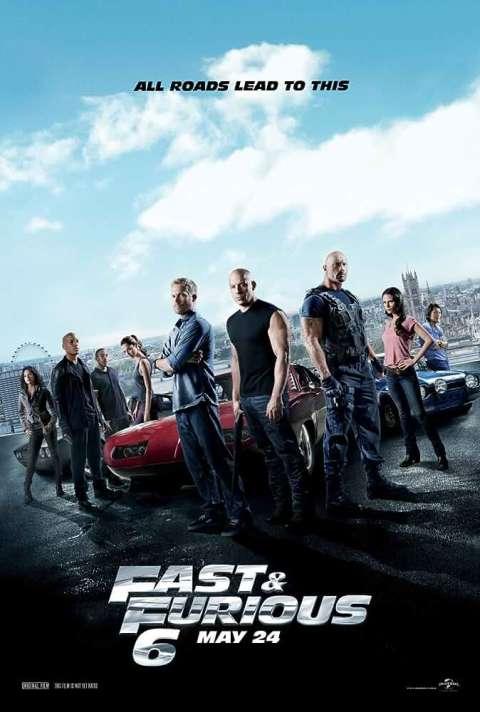 Download Fast & Furious 6 (2013) Dual Audio Hindi BluRay 480p [500MB] | 720p [1GB] | 1080p [2.8GB]