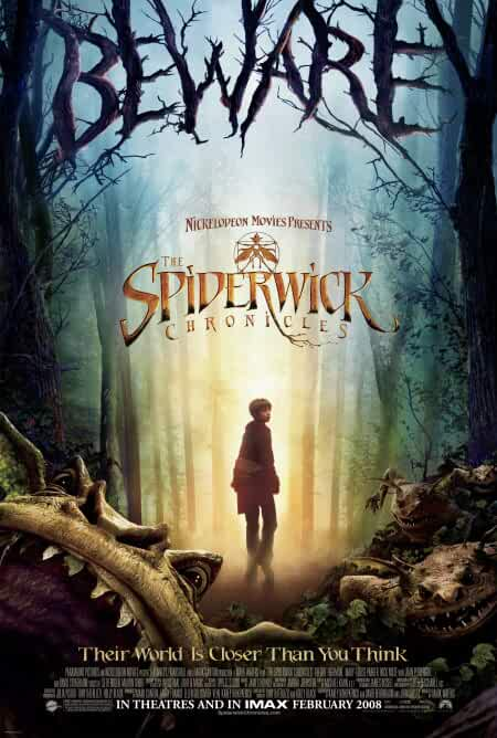 Download The Spiderwick Chronicles (2008) Dual Audio {Hindi-English} HDRip 720p [950MB]