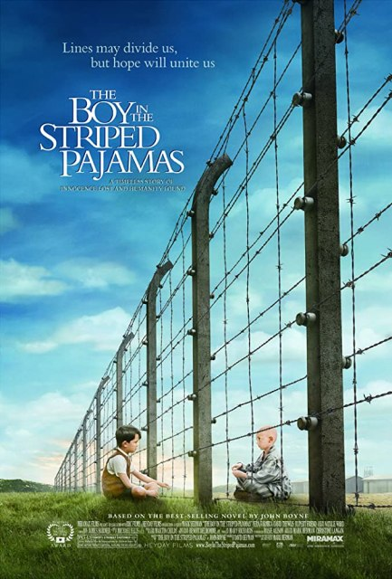 Asa Butterfield and Zac Mattoon O'Brien in The Boy in the Striped Pyjamas (2008)