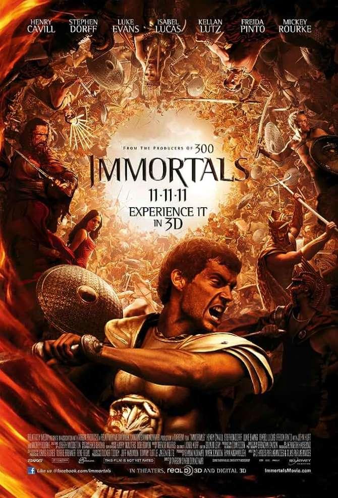 Download Immortals 2011 Dual Audio 720p BluRay [Hindi + English] ESubs
