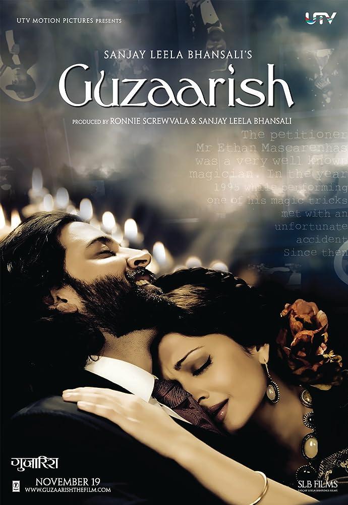 Guzaarish 2010 Hindi Movie BluRay 300mb 480p 1GB 720p 4GB 10GB 13GB 1080p