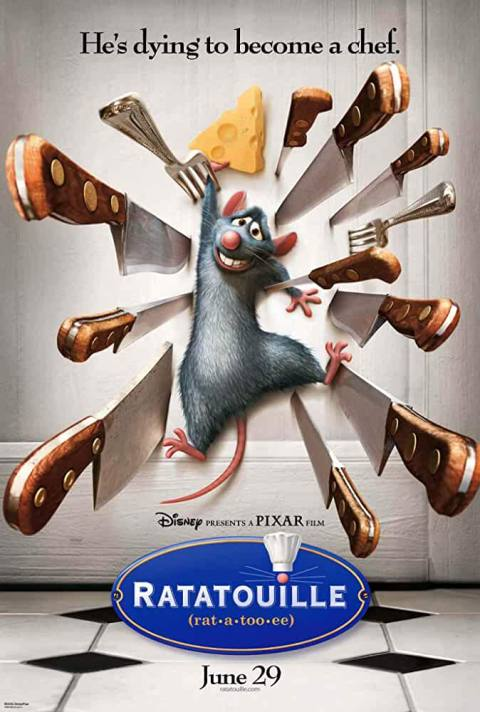 Download Ratatouille (2007) Dual Audio (Hindi-English) BluRay 480p [350MB] || 720p [850MB]
