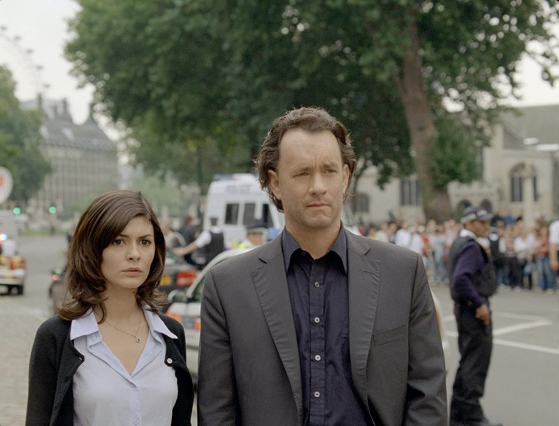 Tom Hanks and Audrey Tautou in The Da Vinci Code (2006)