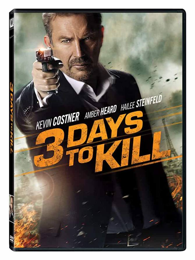 3 Days To Kill 2014 720p Esub BluRay Dual Audio English Hindi Watch Online Free Download on movies365.co