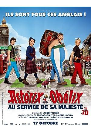 Astérix e Obélix: A Serviço de sua Majestade Dublado Online