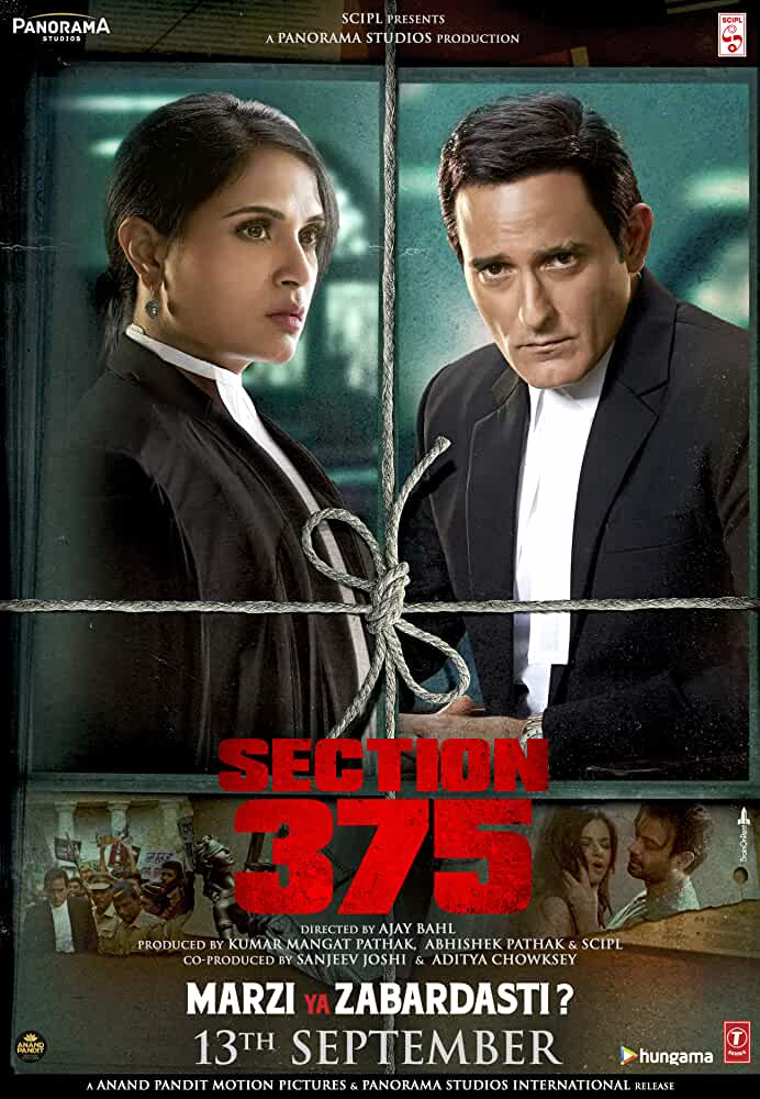 Download Section 375 (2019) Full Movie In Hindi WebRip 480p [350MB] | 720p [1GB]