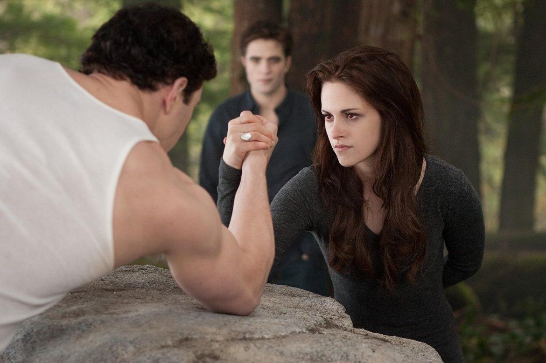 Kristen Stewart, Robert Pattinson, and Kellan Lutz in The Twilight Saga: Breaking Dawn - Part 2 (2012)