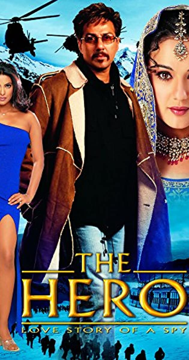 The Hero: Love Story of a Spy (2003) Hindi Movie 720p HDRip 1.3GB | 500MB Download