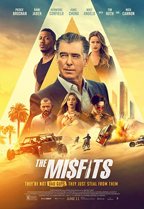 The Misfits (2021) English 720p HEVC HDRip x265 AAC ESubs Full Hollywood Movie [600MB]