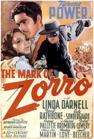 A Marca do Zorro Dublado Online
