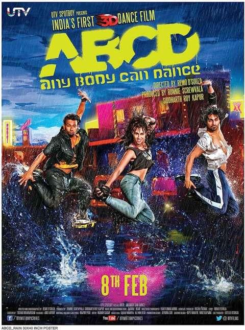 Download ABCD (2013) Hindi Full Movie 480p [400MB]   720p [1GB]