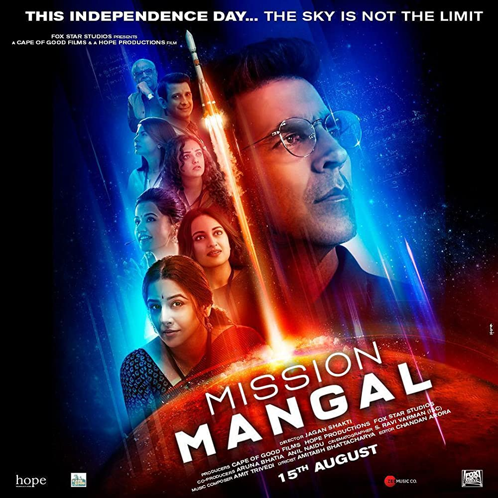 Upcoming Bollywood Movie Mission Mangal (2019) Star Cast, Release Date, Trailer, Songs, Story