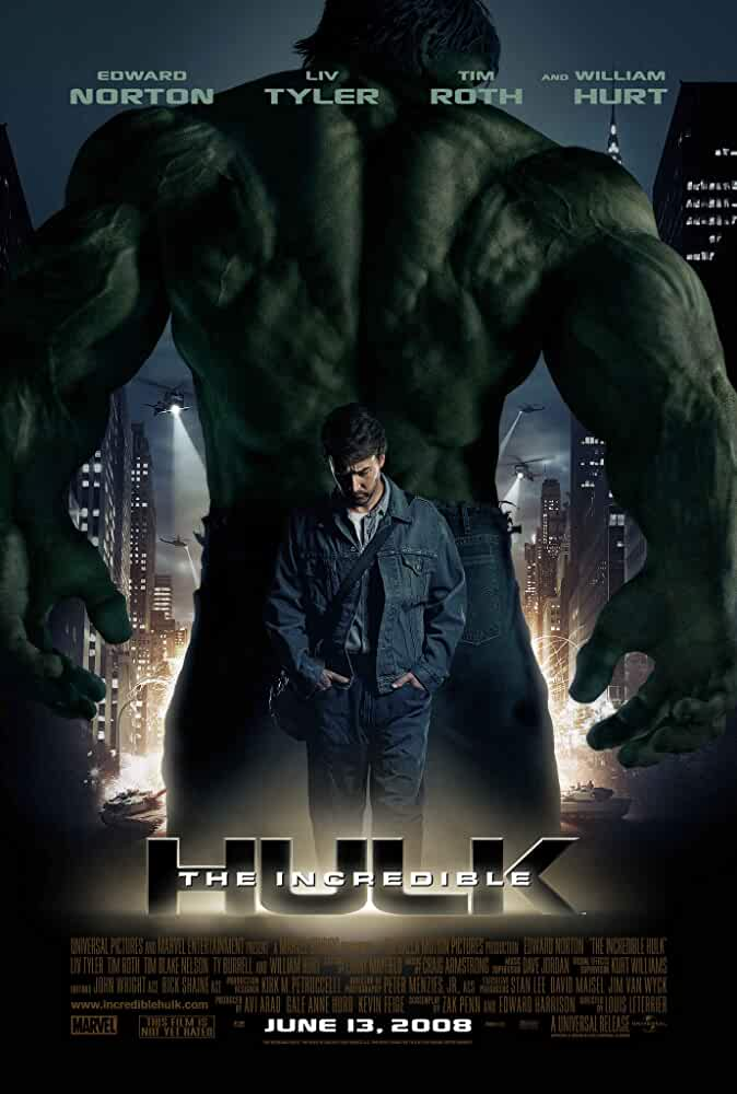 Download The Incredible Hulk (2008) Dual Audio {Hindi-Eng} 480p [400MB] | 720p [1GB]
