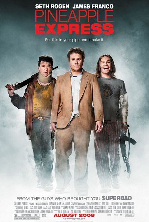 Pineapple Express 2008 Dual Audio Hindi 400MB BluRay 480p UNRATED