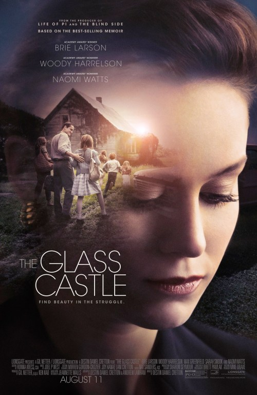 August 2017 Adaptations - The Glass Castle Poster