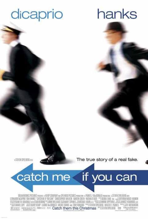 Download Catch Me If You Can (2002) Full Movie In Hindi-English (Dual Audio) BluRay 480p [500MB] | 720p [1.4GB] | 1080p [2.3GB]