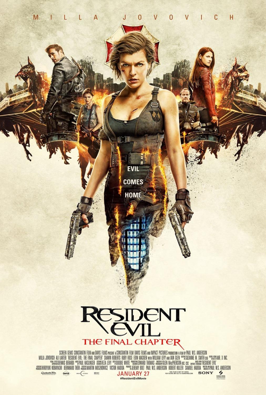 Resident Evil The Final Chapter 2016 Imdb