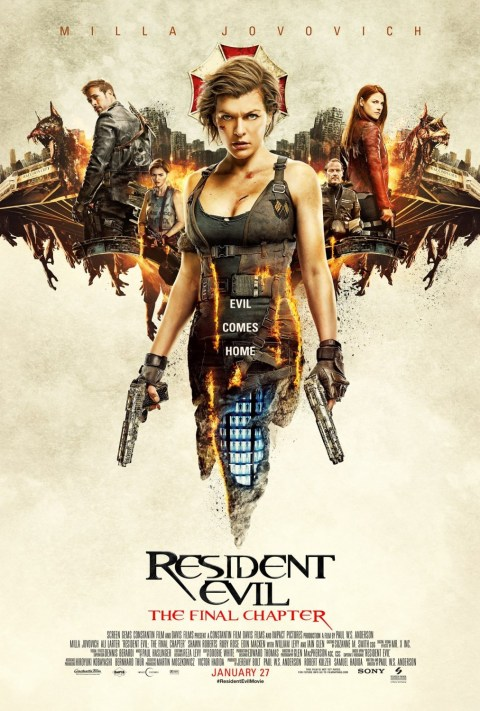 Download Resident Evil: The Final Chapter (2016) Full Movie In Hindi-English 480p | 720p | 1080p