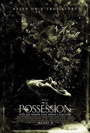 Poster do filme - Possessão, onde uma mulher possuída solta demônios pela boca