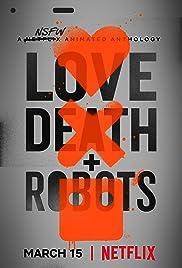 Risultati immagini per love death & robots NETFLIX POSTER