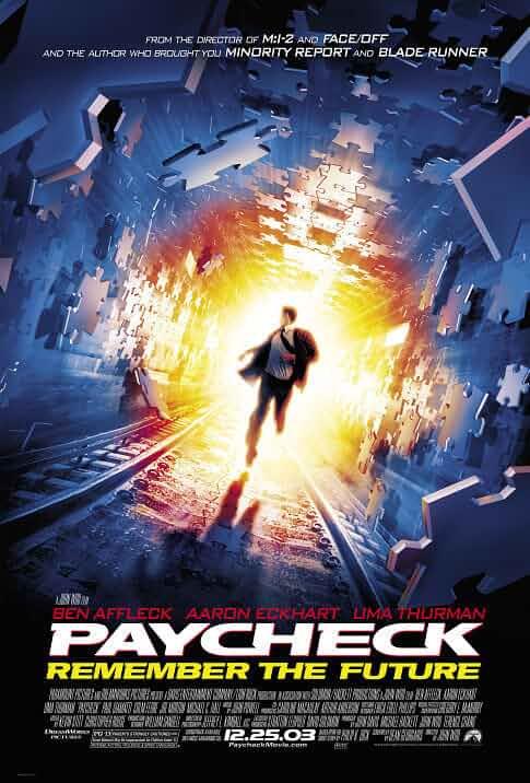 Paycheck (2003) Full Movie Dual Audio 720p BluRay Esub at movies365