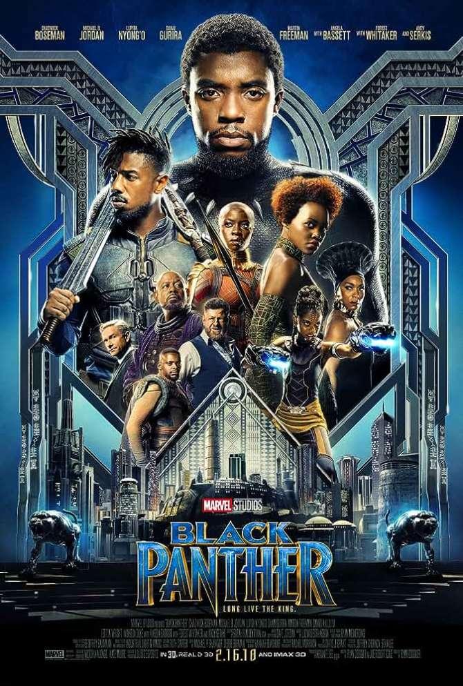 Black Panther (2018) In Hindi HD 720p Download ESub www.hollymovies4u.com