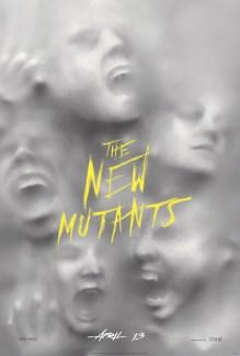 Hasil gambar untuk The New Mutants (2019) poster