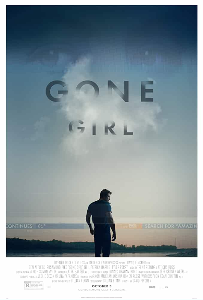 Download Gone Girl (2014) [In English 5.1 DD] With Hindi Subs 480p [400MB] | 720p [1GB]
