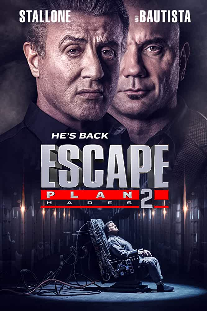 Escape Plan 2 Hades 2018 720p BluRay Dual Audio [Hindi (Cleaned) - English] on www.movies365.co