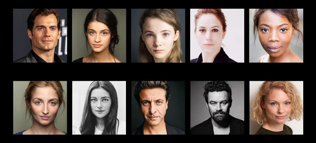 Henry Cavill, Adam Levy, Jodhi May, Björn Hlynur Haraldsson, Mimi Ndiweni, Therica Wilson-Read, Millie Brady, Freya Allan, and Anya Chalotra in The Witcher (2019)