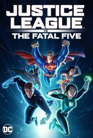 Liga da Justiça vs. os Cinco Fatais Legendado Online