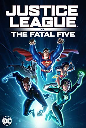 Liga da Justiça vs. os Cinco Fatais Dublado Online