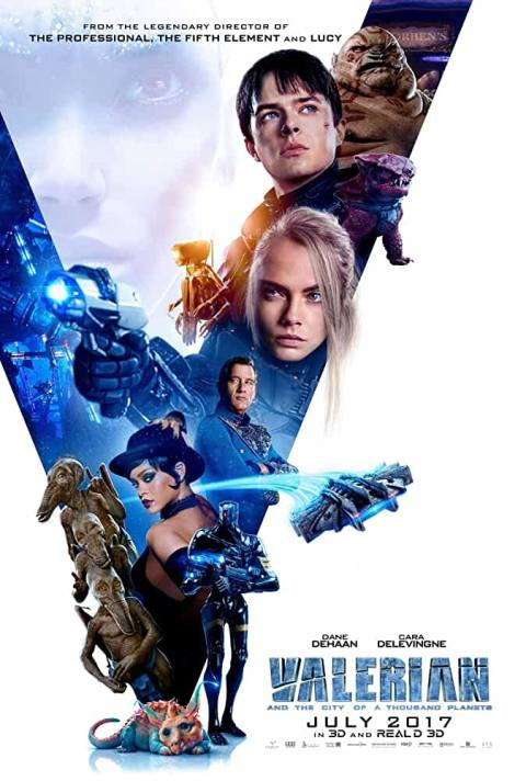 Download Valerian and the City of a Thousand Planets (2017) Full Movie In Hindi-English  480p [450MB] | 720p [1GB] | 1080p [2.2GB]