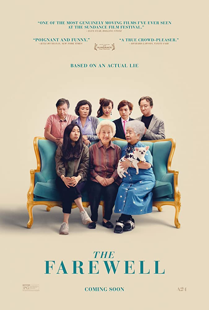 Upcoming Hollywood Movie The Farewell  (2019) Cast, Release Date, Trailer, Story
