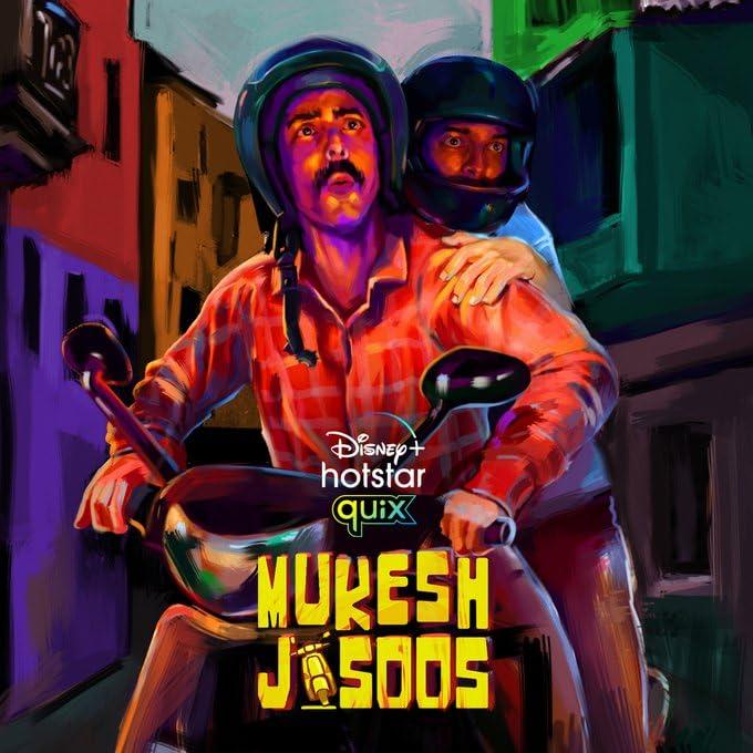 Download Mukesh Jasoos 2021 Hindi S01 Complete DSNP Original Web Series 480p HDRip 800MB