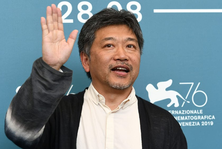Hirokazu Koreeda at an event for La vérité (2019)