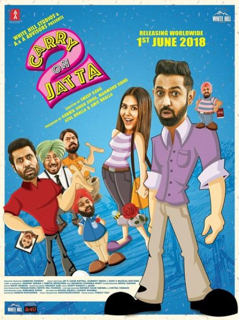 Carry On Balle Balle (Carry On Jatta 2) 2020 Hindi Dubbed 720p HDRip 766MB Download