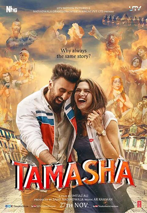 Download Tamasha (2015) Hindi Full Movie 720p | 480p