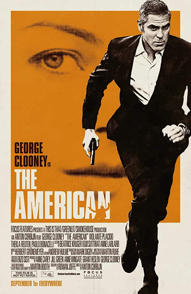 +18 The American 2010 720p x264 Esub BluRay Dual Audio English Hindi