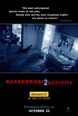 Atividade Paranormal 2 Dublado Online