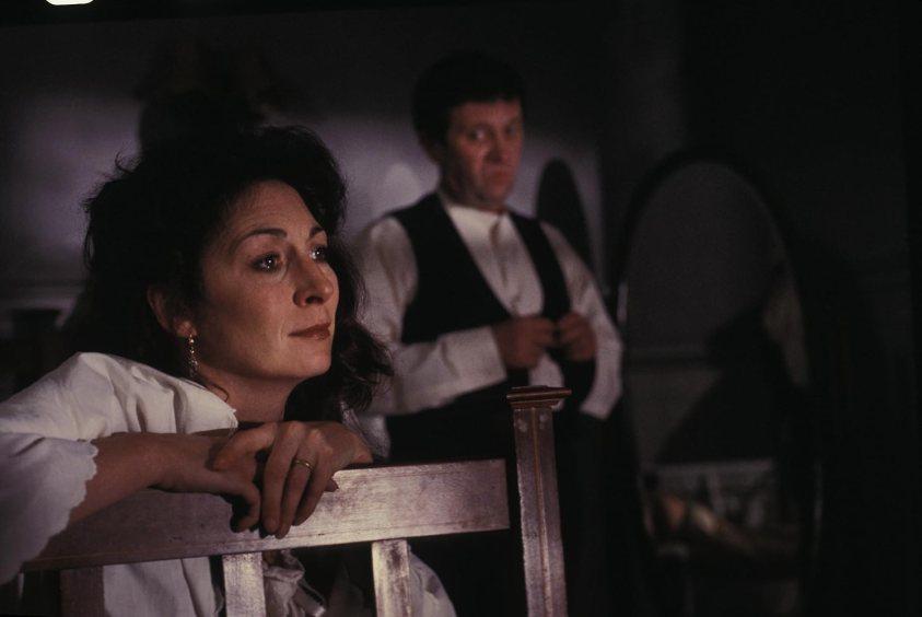Anjelica Huston en Dublineses