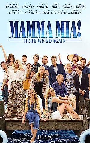 Download Mamma Mia! Here We Go Again (2018) Dual Audio [Hindi – English] Web-DL 1080p 720p 480p Mkv