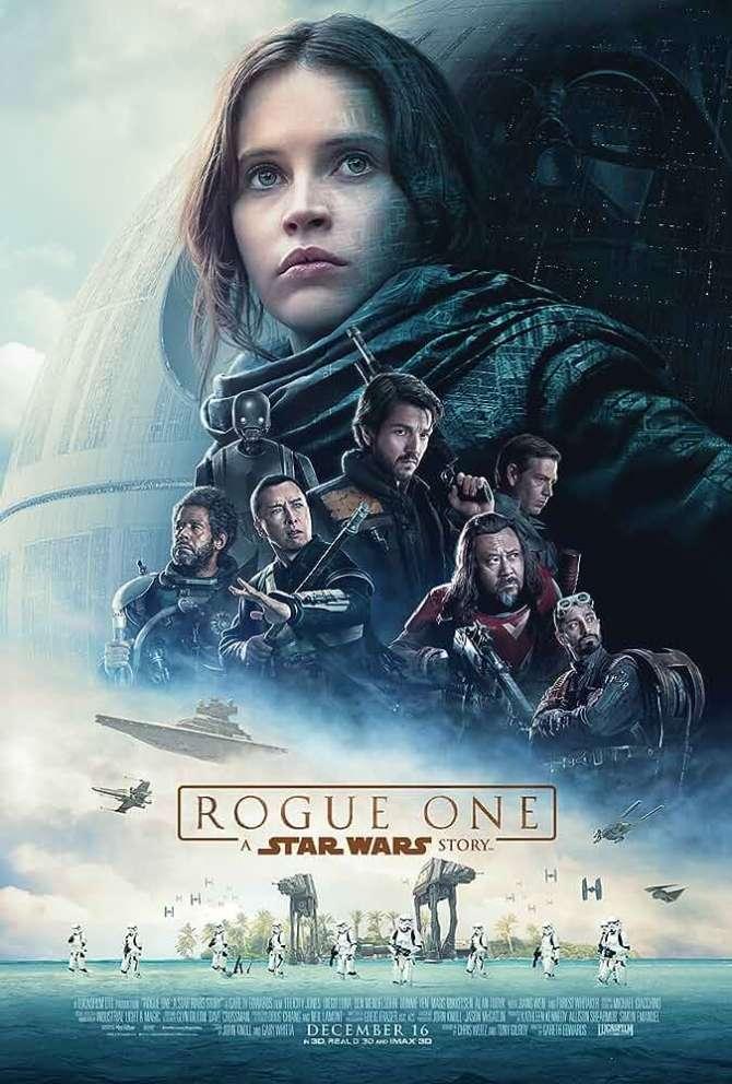 Rogue One A Star Wars Story (2016) Full Movie In Hind - English BluRay 720p Esub www.hollymovies4u.com
