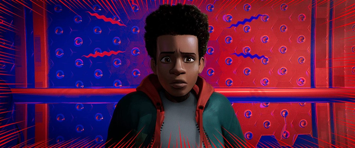 Shameik Moore in Spider-Man: Into the Spider-Verse (2018)