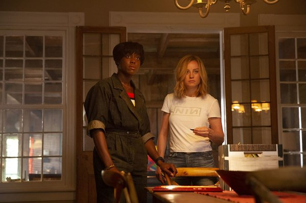 Brie Larson and Lashana Lynch in Captain Marvel (2019)