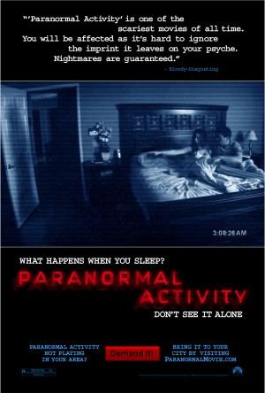 Atividade Paranormal Dublado Online