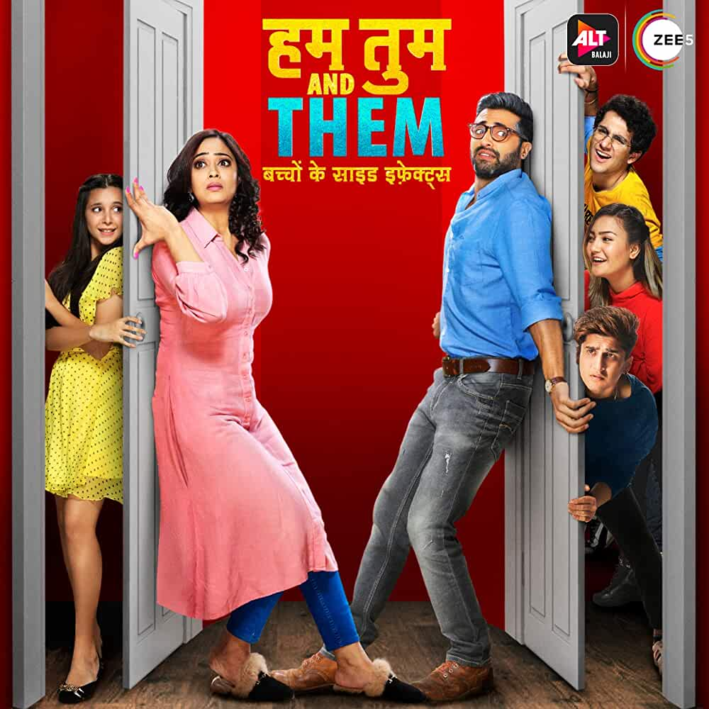 Hum Tum And Them (2019) Hindi WEB-DL - 480P | 720P - x265 - 300MB | 800MB - Download & Watch Online Movie Poster - mlsbd