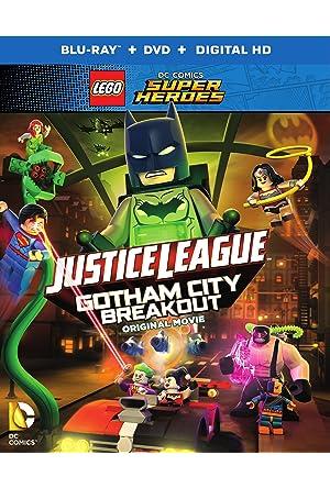 LEGO Liga da Justiça Fuga em Massa em Gotham City Dublado Online