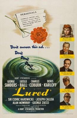 Lured (1947) - IMDb